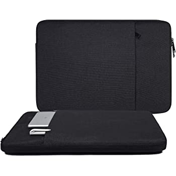 Acer Aspire Toshiba Samsung 15.6 Carrying Case Lenovo Ideapad MSI Space Grey ASUS 15.6 Inch Waterproof Laptop Sleeve Case for HP 15.6 Laptop//HP Envy X360//ProBook//OMEN 15 Dell Inspiron 15