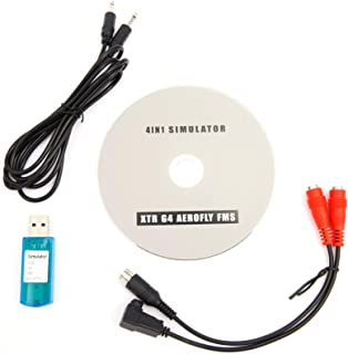 SurePromise One Stop Solution for Sourcing USB-simulator kabel gränssnitt RC spektrum DX5e DX6i DX7 Futaba helikopter