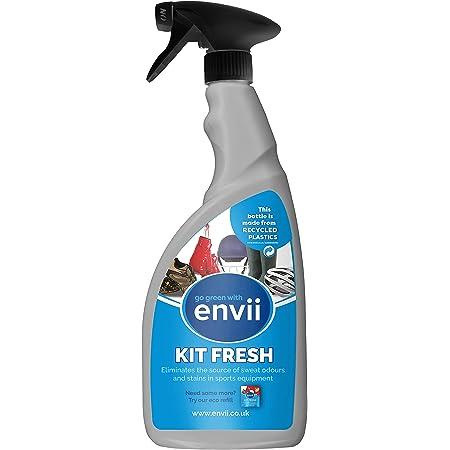 Envii Kit Fresh – Spray Elimina Odori per Scarpe e Attrezzatura Sportiva (Spray trigger da 750 ml)