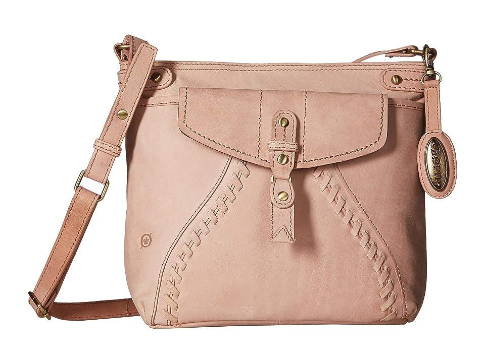 2b31940e45 Born Baylor Whipstitch Crossbody (Dusty Pink) Cross Body Handbags