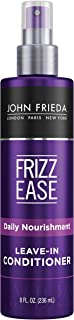 John Frieda Frizz Ease Daily Nourishment Leave-in Conditioner, 8 Ounces