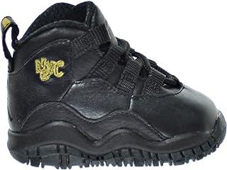 competitive price aedba e116a Jordan 10 Retro BT Toddler s Shoes Black Dark Grey Metallic Gold 310808-012