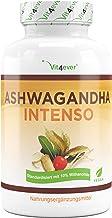 Vit4ever® Ashwagandha Intenso - 180 Kapseln - 1500 mg pro Tagesportion - 10% Withanoliden - Laborgeprüfter Wirkstoffgehalt - Aswaganda in Premium Qualität - Vegan - Hochdosiert - Schlafbeere