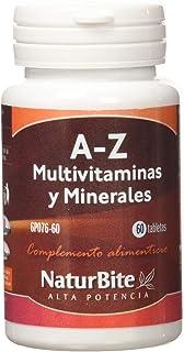 NaturBite A-Z Multivitaminas y Minerales - 60 Tabletas
