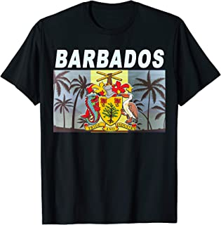 barbados flag clothing