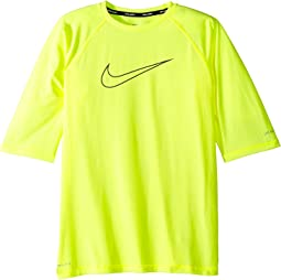Nike Kids - Heather Swoosh Half Sleeve Hydroguard (Big Kids)
