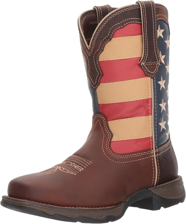 Durango Woherrar Lady Rebel Western Western Western Boot, bspringaa  Union Flag, 7.5 Mellanamerikanska  gör rabattaktiviteter