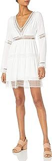 Nicole Miller Women's Deep V Dress
