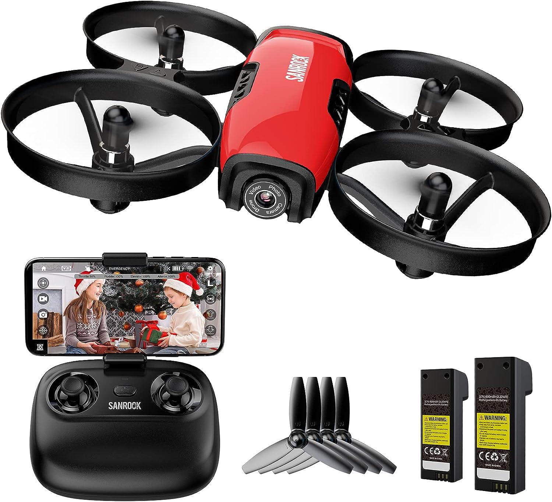 Sanrock 720p U61W  Camera Quadcopter Drone  $19.99 Coupon