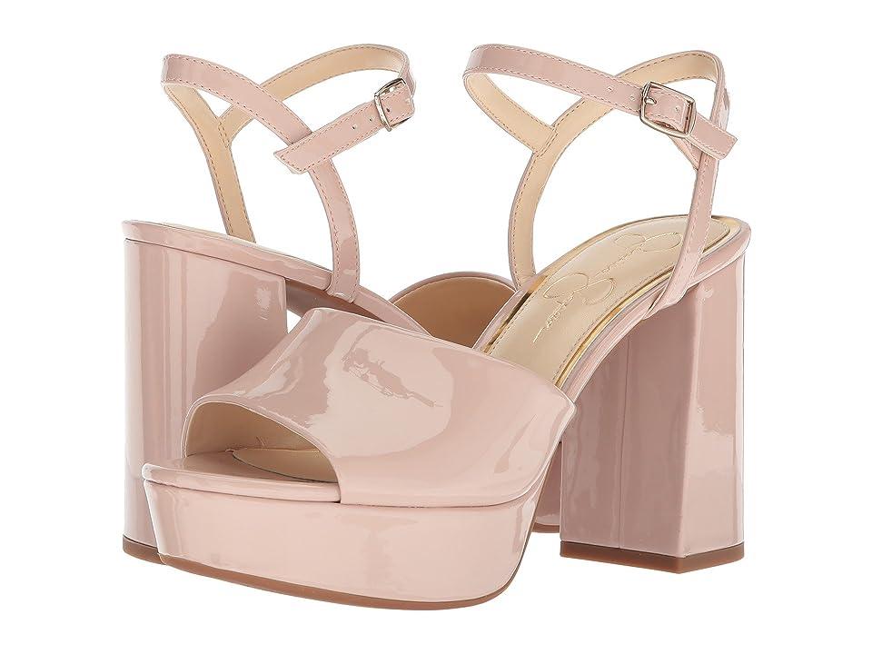 Jessica Simpson Kerrick (Nude Blush Patent) High Heels