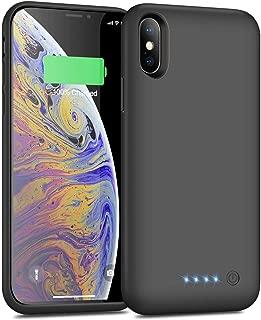 iPosible Cover Batteria per iPhone X/XS/10 6500mAh Cover