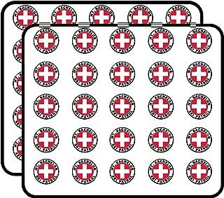 Round MT Bachelor SKI Patrol (or Oregon Mount Snow) Sticker for Scrapbooking, Calendars, Arts, Kids DIY Crafts, Album, Bullet Journals