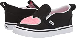 98130cf09a3185 (Fur Heart) Strawberry Pink Black. 64. Vans Kids