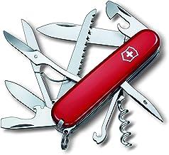 Victorinox Scyzoryk Huntsman (15 funkcji, nożyczki, piła do drewna, korkociąg, otwieracz do kapsli, izolator drutu)
