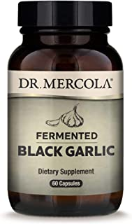 Dr. Mercola - Fermented Black Garlic, 60 Count (Pack of 1)
