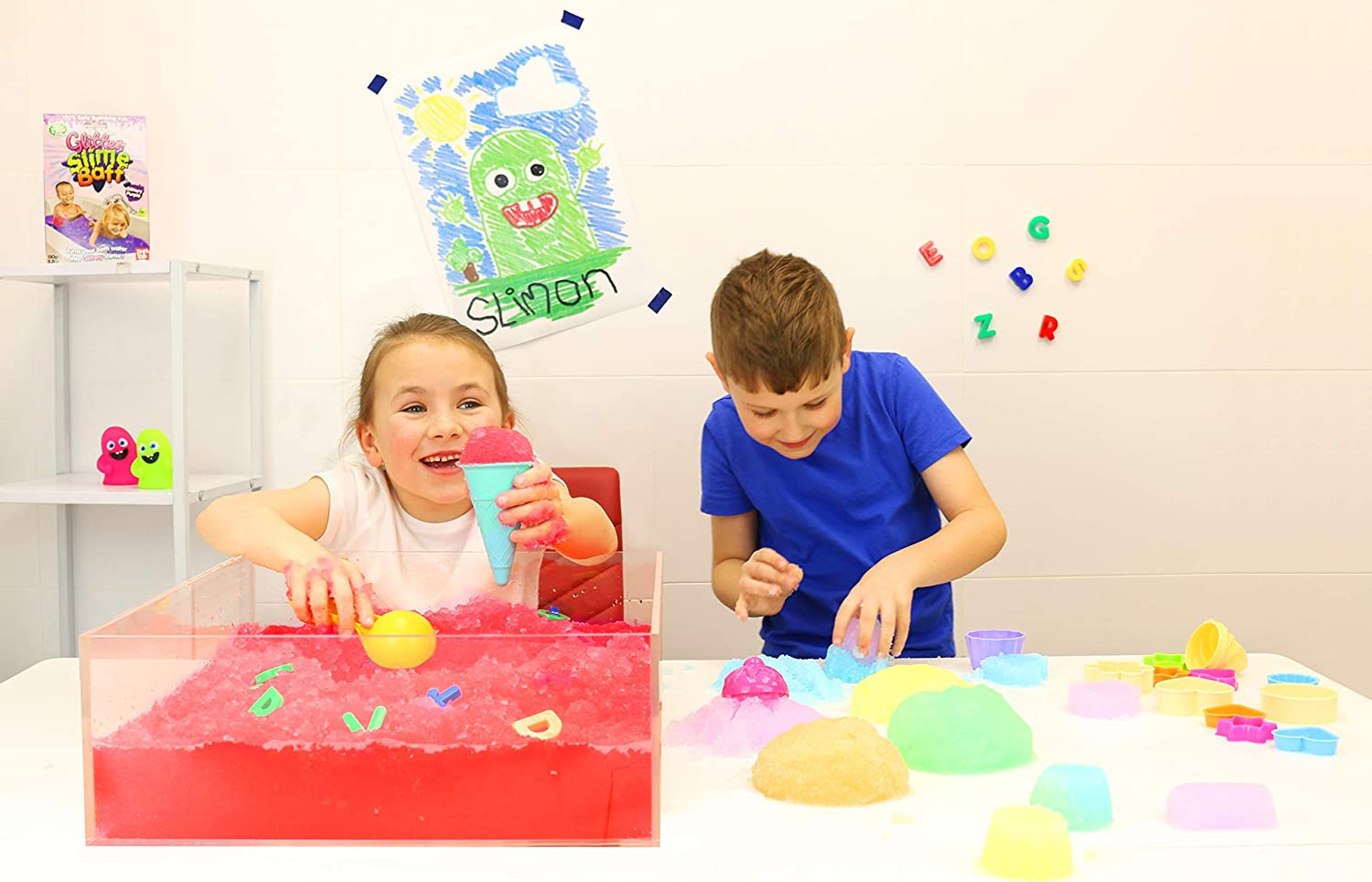 Certified Biodegradable Toy Turn Water into Colourful goo Childrens Sensory /& Play Toy Zimpli Kids 5474 Gelli Play Foil Bags Mixed x24