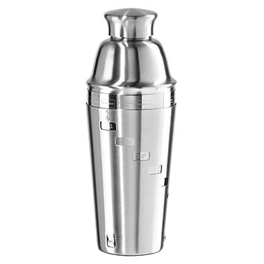 Oggi 15 Recipe Stainless Steel Cocktail Shaker