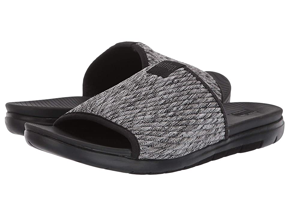 273c1f6f7eb FitFlop Artknit Slide (Black Mix) Women
