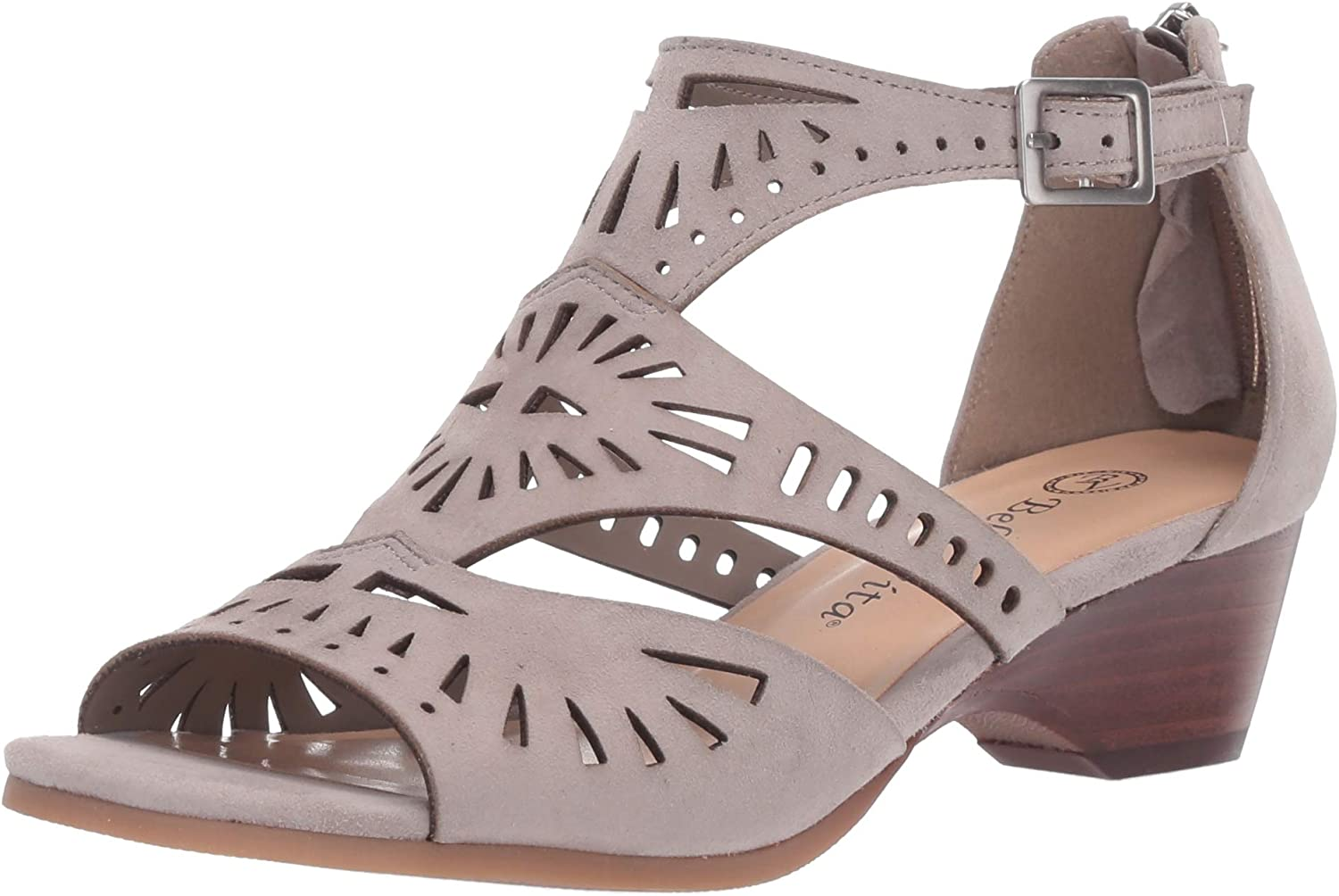 Bella gift Vita New products, world's highest quality popular! Women's Penny Cutout with Back Sandal Heeled Zipper