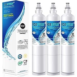 Genuine Lot of 2 LG Refrigerator Ice Water Filter 5231JA2006B LT600P 1136 Liter