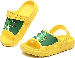 Bambini carino giardino zoccoli ragazzi ragazze Cartoon dinosauro camminare sandali bambino leggero spiaggia piscina panto...