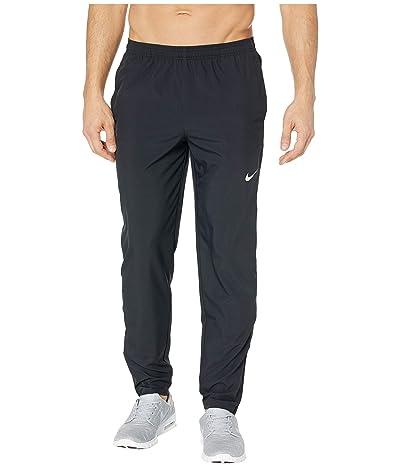 Nike Run Stripe Woven Pants (Black/Reflective Silver) Men
