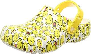 Crocs Unisex-Child 205767-90H Fun Lab Smiley Clog
