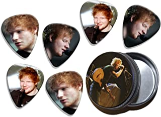 Ed Sheeran (WK) 6 X Live Performance Guitarra Picks in Tin