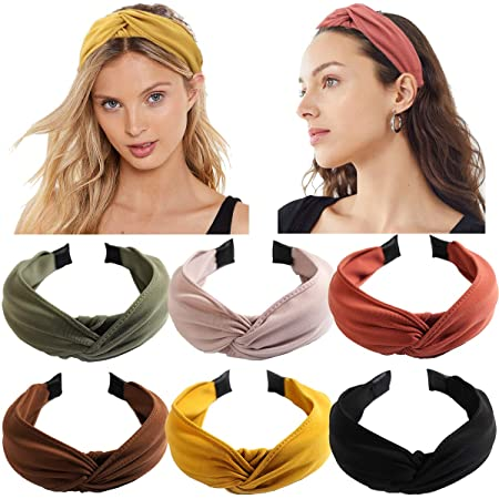 Fashion Women Cross Wide Hairband Turban Twist Knot Headband Headwrap Hair Band