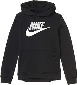 NIKE Air Black White Fleece Sweatshirt F//Z Hoodie Jacket NEW Youth Boys M L