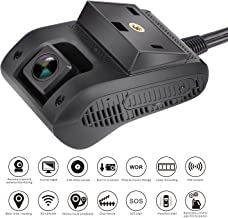 Amacam Professional Fleet GPS Dash Cam AM-G20 has 3G Live Video Streaming to Your Phone. Front Facing & Internal Camera Views. Real Time Vehicle Tracker from Any Location. for Trucks Cars and Taxis.