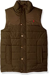 Joules Boys' Matchday Fleece Lined Padded Gilet