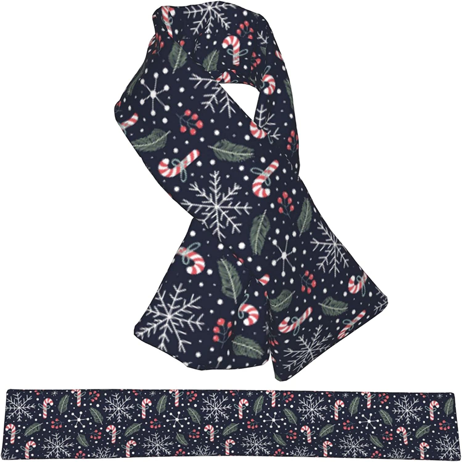 Christmas Snow Beauty products Plush El Paso Mall Scarf Double-Sided Child Warm