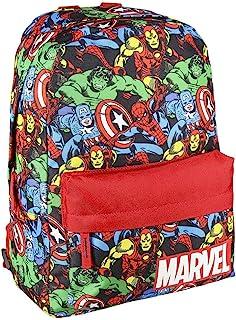 Cerdá - Mochila Infantil Estamapada The Avangers - Licencia Oficial Marvel Studios