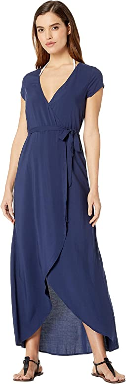 c0832f9d6f L space twilight wrap dress cover up