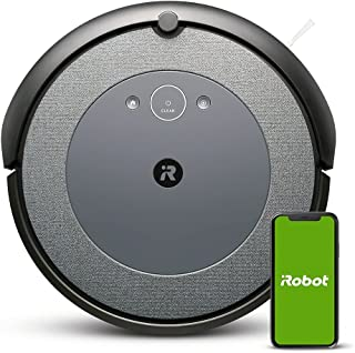 iRobot® Roomba® i315240 Connected Mapping Robot Vacuum with Dual Multi Surface Rubber Brushes - Ideal for Pets - Personali...