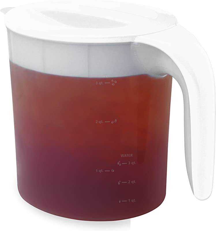 Mr Coffee 3 Qt Replacement Pitcher For Fresh Iced Tea Maker White