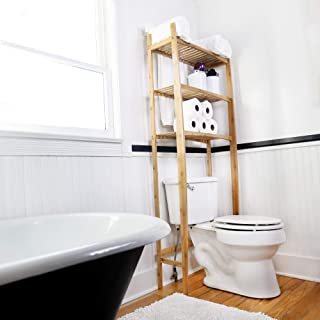 NewRidge Home Goods Bathroom Space Saver, One Size, Natural