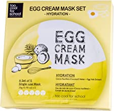 Too cool for school Egg Cream Mask (5ea