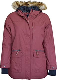 096df71e392 Pulse Women s Plus Size Extended Insulated Parka Societe Coat