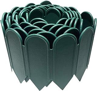 JonesHouseDeco Bordure de jardin en plastique PP flexible et décorative pour jardin, pelouse, parterre de fleurs, allée, 3...