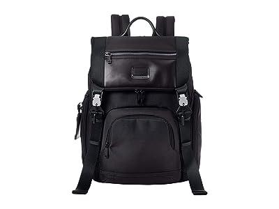 Tumi Alpha Bravo Lark Backpack (Black) Backpack Bags