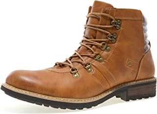 J75 by Jump Men's Gilliad Round Plain Toe Lace-Up Waterproof Hiking Boot