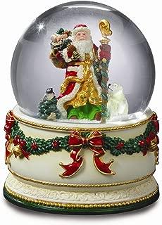 The San Francisco Music Box Company Holiday Treasures Christmas Journey Snow Globe