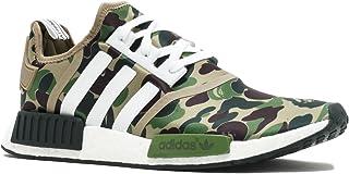 adidas NMD R1 Bape 'Bape' - Ba7326 - Size 10 Green Camo