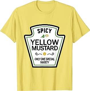 Mustard Condiments Group Halloween Costumes T-Shirt T-Shirt