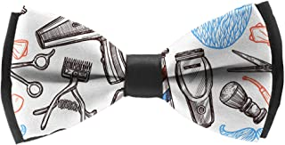 Men's Luxury Formal Bowtie Elegant Adjustable Tuxedo Bow Ties Barber Shop Tools