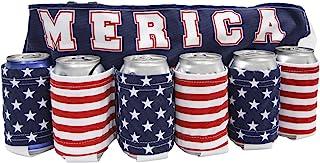 Novelty USA Americana Themed Beverage Holder Beer Belt