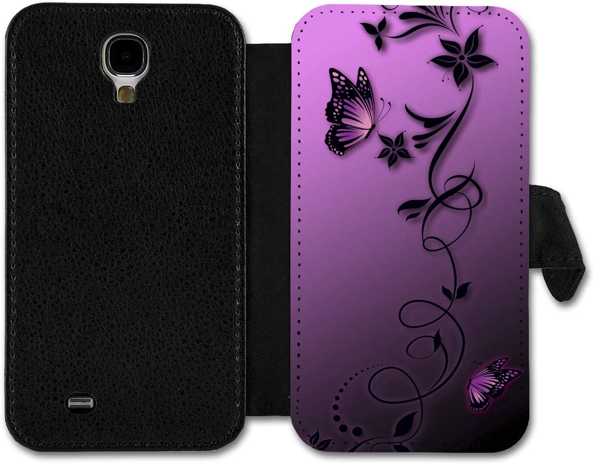 Book Style Flip Handy Tasche Case Schutz Hülle Schale Motiv Etui Für Samsung Galaxy J1 A14 Design1 Elektronik