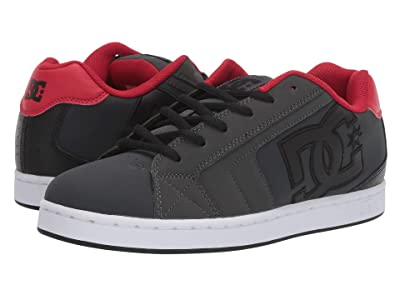 DC Net (Grey/Dark Red) Men